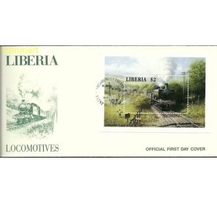Znaczek Liberia 1988 Mi bl 116 FDC