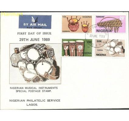 Znaczek Nigeria 1989 Mi 531-534 FDC