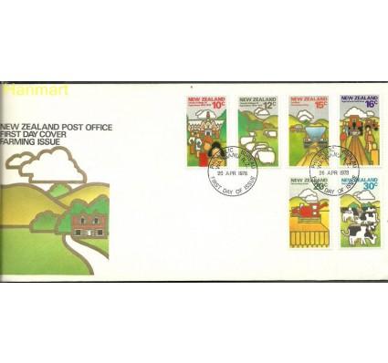 Znaczek Nowa Zelandia 1978 Mi 740-745 FDC