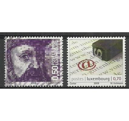 Znaczek Luksemburg 2009 Mi 1850-1851 Czyste **