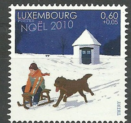 Znaczek Luksemburg 2010 Mi 1897 Czyste **