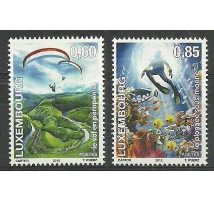 Znaczek Luksemburg 2012 Mi 1947-1948 Czyste **
