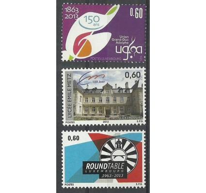 Znaczek Luksemburg 2013 Mi 1963-1965 Czyste **