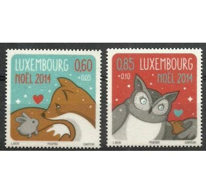 Znaczek Luksemburg 2014 Mi 2026-2027 Czyste **