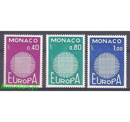 Monako 1970 Mi 977-979 Czyste **