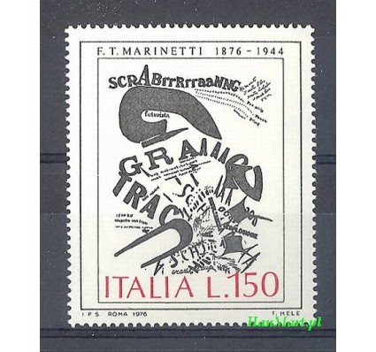 Włochy 1976 Mi 1536 Czyste **