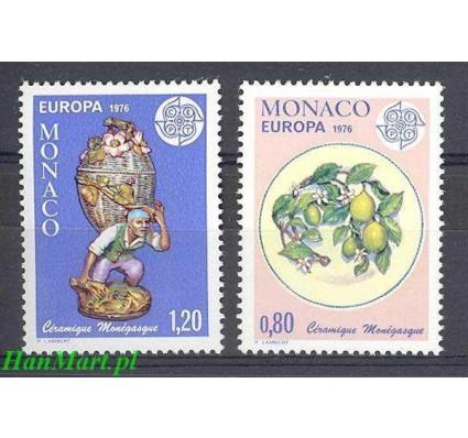 Znaczek Monako 1976 Mi 1230-1231 Czyste **
