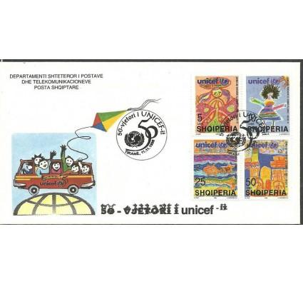 Znaczek Albania 1996 Mi 2607-2610 FDC