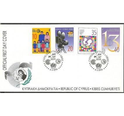 Znaczek Cypr  1996 Mi 873-876 FDC