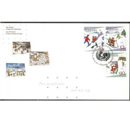 Znaczek Kanada 1996 Mi 1605-1607 FDC