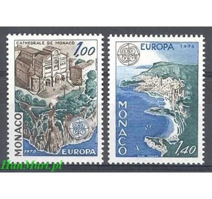 Monako 1978 Mi 1319-1320 Czyste **