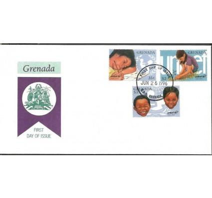 Znaczek Grenada 1996 Mi 3190-3192 FDC