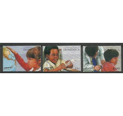 Znaczek Dominika 1996 Mi 2173-2175 Czyste **
