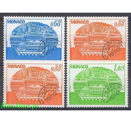 Monako 1979 Mi 1380-1383 Czyste **
