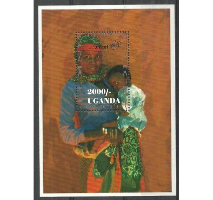 Znaczek Uganda 1996 Mi bl 260 Czyste **