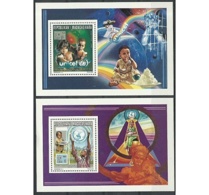 Znaczek Madagaskar 1996 Mi bl C269-D269 Czyste **