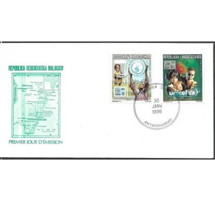 Znaczek Madagaskar 1996 Mi 1807-1808 FDC