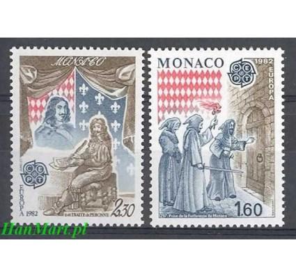 Monako 1982 Mi 1526-1527 Czyste **