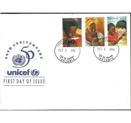 Znaczek Tanzania 1996 Mi 2458-2460 FDC