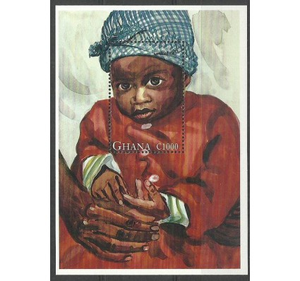 Znaczek Ghana 1996 Mi bl 302 Czyste **