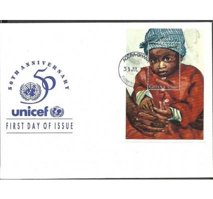 Znaczek Ghana 1996 Mi bl 302 FDC