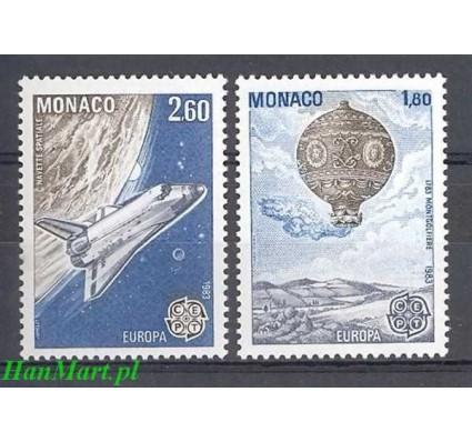 Znaczek Monako 1983 Mi 1579-1580 Czyste **