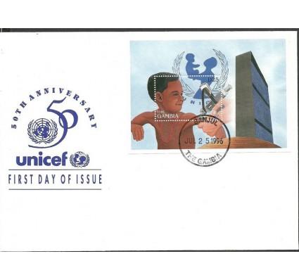 Znaczek Gambia 1996 Mi bl 307 FDC