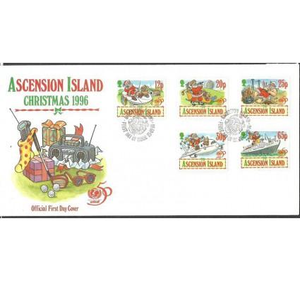 Znaczek Wyspa Wniebowstąpienia 1996 Mi 711-715 FDC