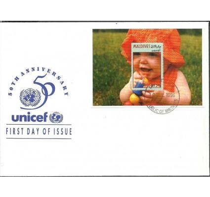 Znaczek Malediwy 1996 Mi bl 365 FDC