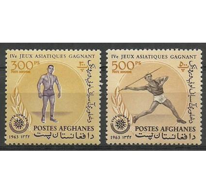 Znaczek Afganistan 1963 Mi 789-790 Czyste **
