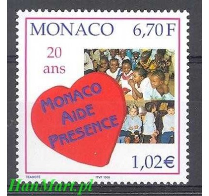 Monako 1999 Mi 2442 Czyste **