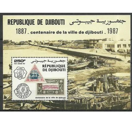 Znaczek Dżibuti 1987 Mi bl 143 Czyste **
