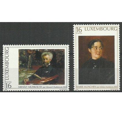 Znaczek Luksemburg 1996 Mi 1396-1397 Czyste **