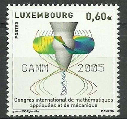 Znaczek Luksemburg 2005 Mi 1665 Czyste **