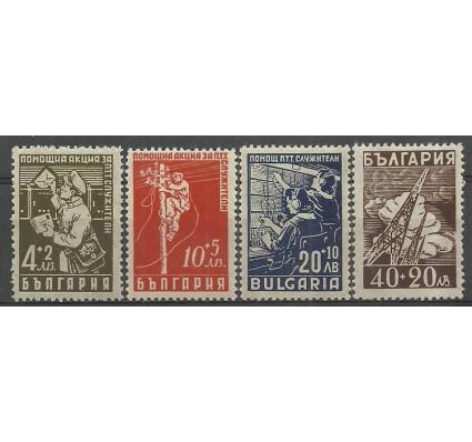 Znaczek Bułgaria 1947 Mi 611-614 Czyste **