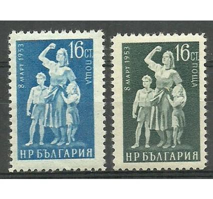 Znaczek Bułgaria 1953 Mi 851-852 Czyste **