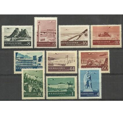 Znaczek Bułgaria 1954 Mi 904-913 Czyste **