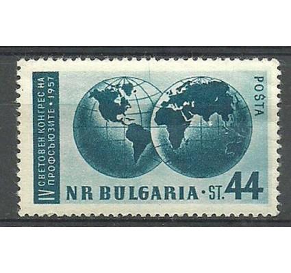 Znaczek Bułgaria 1957 Mi 1040 Czyste **