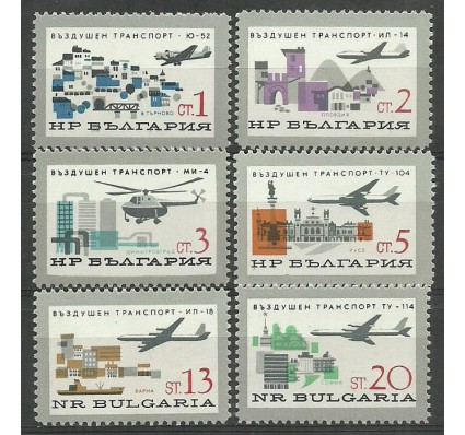 Znaczek Bułgaria 1965 Mi 1583-1588 Czyste **