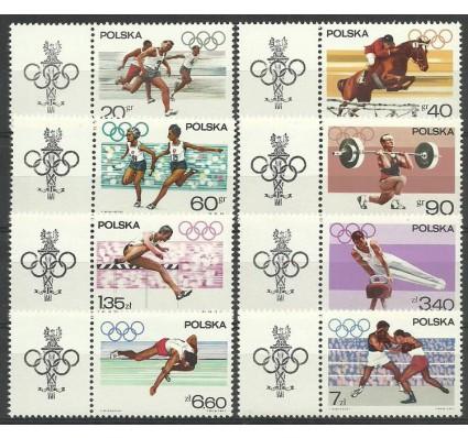 Znaczek Polska 1967 Mi zf 1761-1768 Fi zf 1613-1620 Czyste **