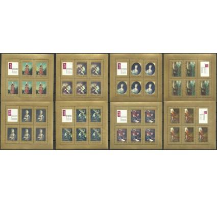 Znaczek Polska 1967 Mi ark 1808-1815 B1 Fi ark 1661-1668 1662 B1 Czyste **