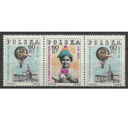 Znaczek Polska 1968 Mi 1852-1853 B2 Fi 1705-1706 B2 Czyste **