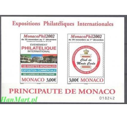 Monako 2002 Mi bl 85 Czyste **
