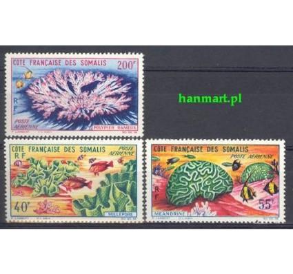 Znaczek Somali Francuskie 1963 Mi 353-355 Czyste **