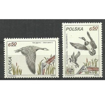 Znaczek Polska 1981 Mi 2750-2751 Fi 2606-2607 Czyste **