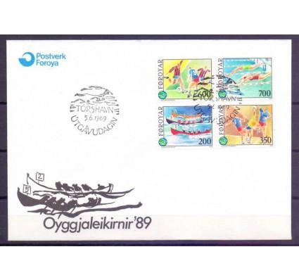 Znaczek Wyspy Owcze 1989 Mi 186-189 FDC