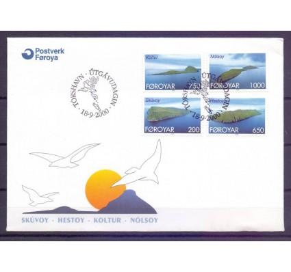 Znaczek Wyspy Owcze 2000 Mi 381-384 FDC