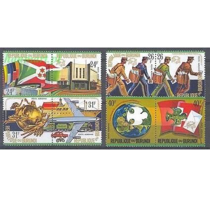 Burundi 1974 Mi 1077-1084 Czyste **