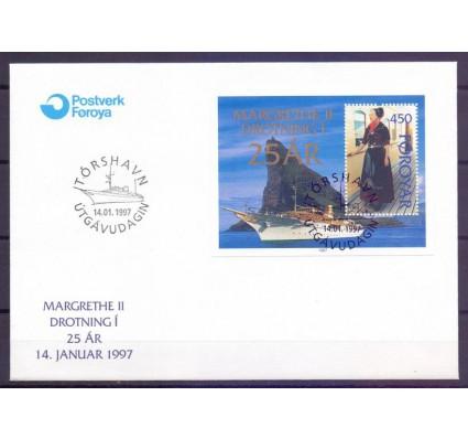 Znaczek Wyspy Owcze 1997 Mi bl 9 FDC