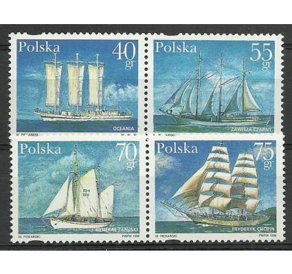 Znaczek Polska 1996 Mi 3577-3580 Fi 3429-3432 Czyste **